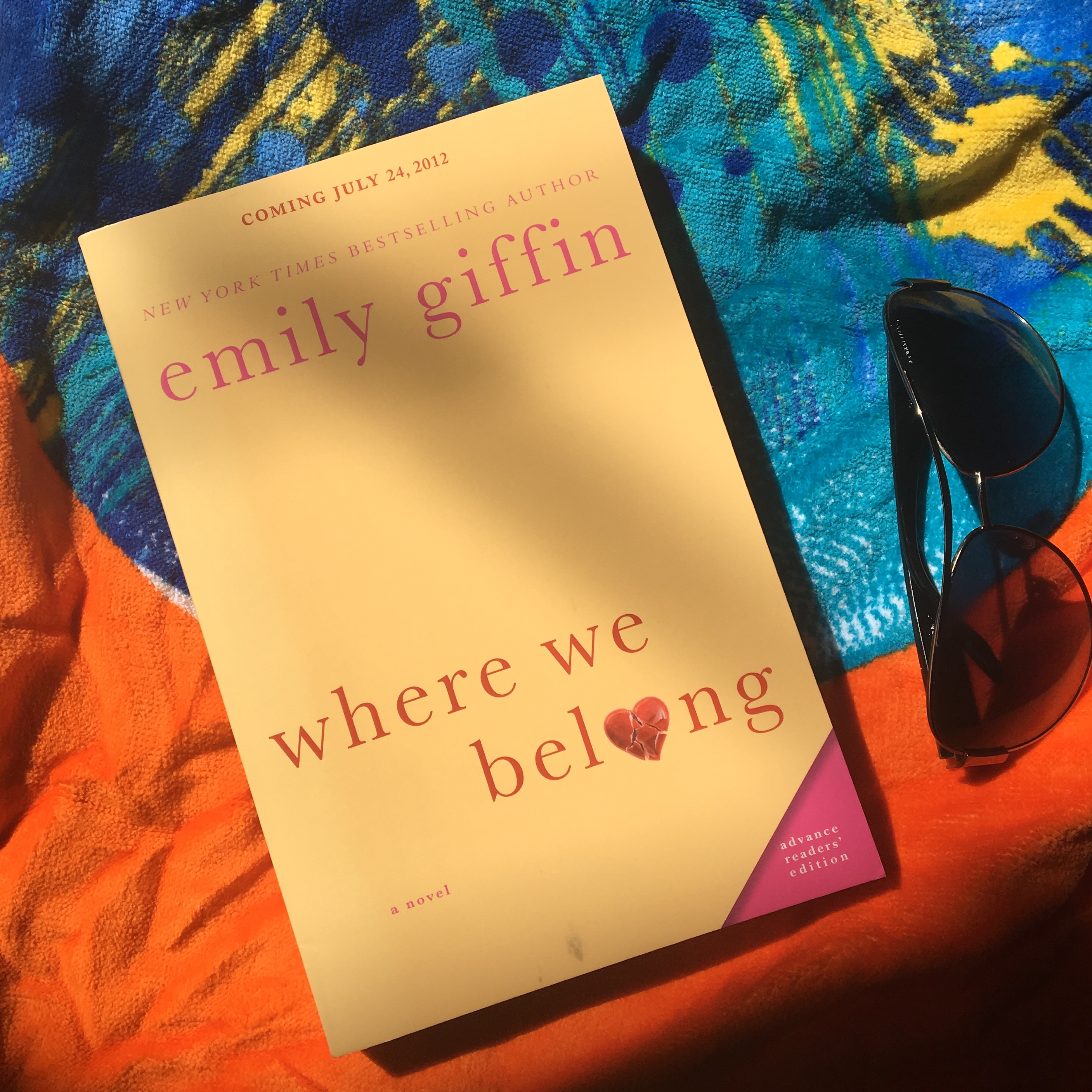 will emily giffin write a sequel to where we belong